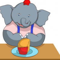 《過嚟一齊食蛋糕啊!》A Big Cake